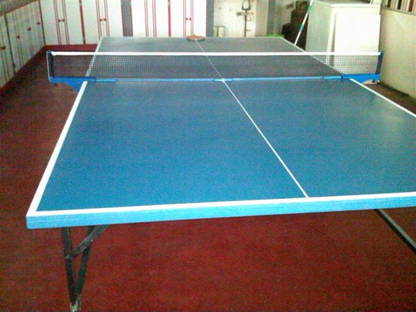 Jimmy's home made table tennis table