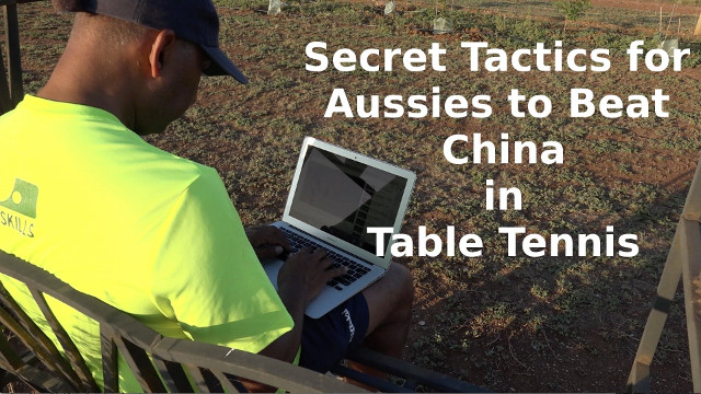 Secret Tactics for Aussies to Beat China in Table Tennis