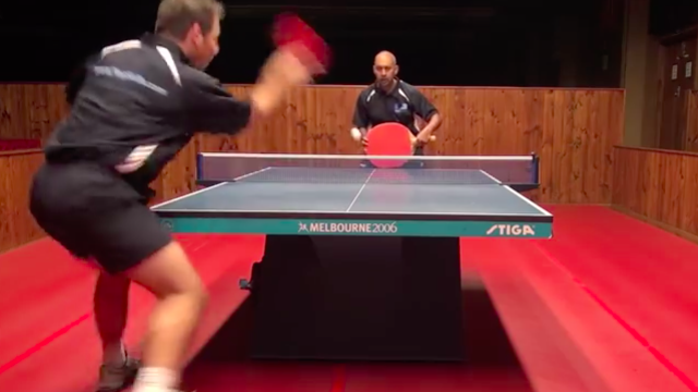 Table Tennis You Won't See at the Olympics