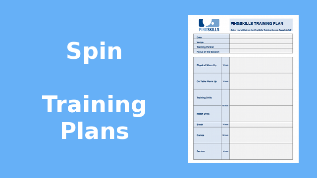 Weeks 21 to 24: Spin Training Plans